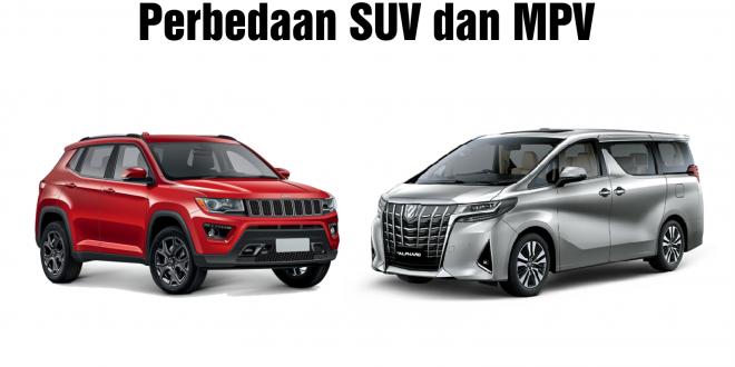 Perbedaan SUV dan MPV